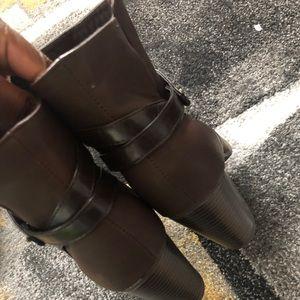 Brown Bootie (New/Never Worn)